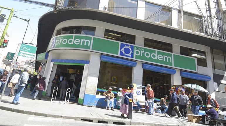 EEUU incluye al Banco Prodem en sanción contra el régimen de Maduro