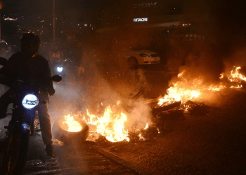 Las protestas en Honduras dejaron dos muertos (AFP)