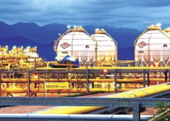 La planta separadora instalada en la región de Gran Chaco del departamento de Tarija.   ABI