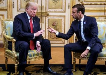 Trump y Macron, durante la última visita del norteamericano a París (Reuters)