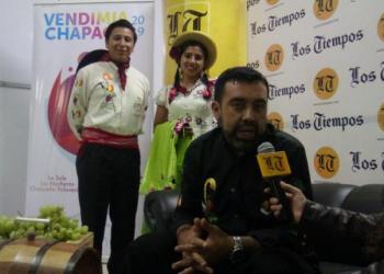 El alcalde de Uriondo, Álvaro Ruíz en entrevista con Los Tiempos.