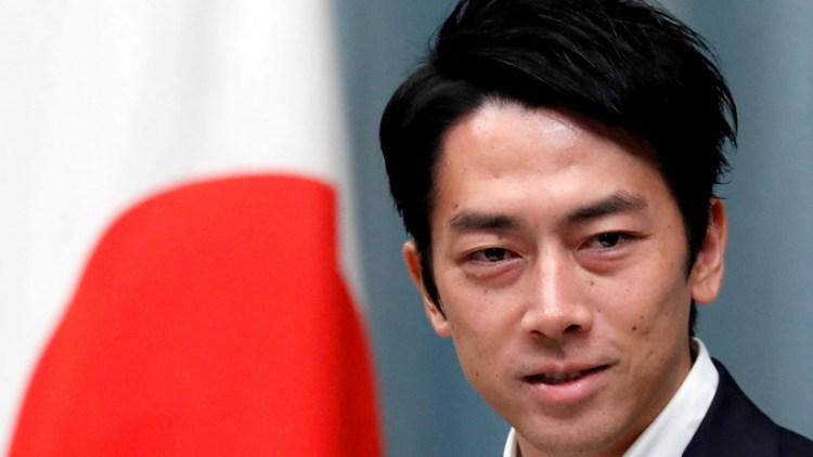 El ministro de Medioambiente de Japón, Shinjiro Koizumi. Issei Kato / Reuters