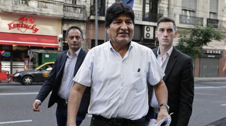 Evo Morales. Foto archivo.