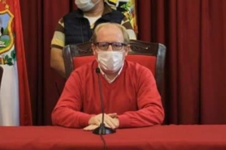 Adrian Oliva, Gobernador de Tarija. Foto Archivo