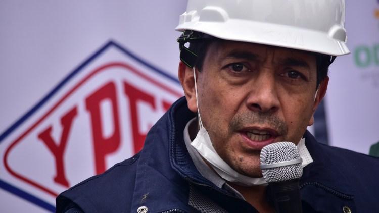 El  ex Ministro de Hidrocarburos, Víctor Hugo Zamora Castedo