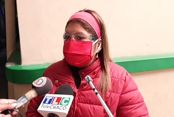Alba Riffarachs, secretaria municipal de salud.