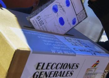 Foto: Elecciones octubre 2019