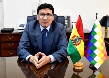 El ministro de Hidrocarburos, Franklin Molina.