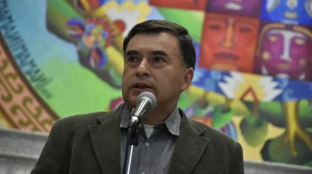 Juan Ramón Quintana, exministro de la Presidencia.
