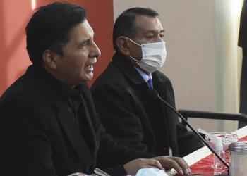 El ministro de Educación, Adrián Quelca. Foto Archivo.