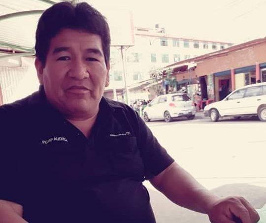 Candidato a gobernador de La Paz, Samuel Sea