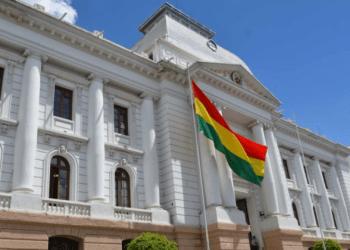 El edificio del Tribunal Supremo de Justicia en Sucre. Foto- Internet