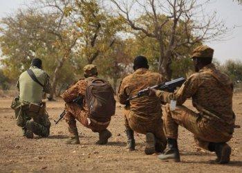 Soldados de Burkina Faso POLITICA AFRICA BURKINA FASO INTERNACIONAL MINISTERIO DE DEFENSA DE BURKINA FASO