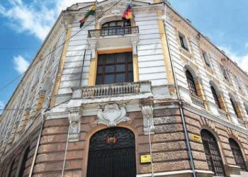 Frontis Cancillería Bolivia