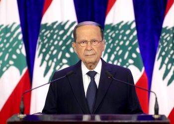 21/11/2020 El presidente de Líbano, Michel Aoun POLITICA INTERNACIONAL -/Dalati & Nohra/dpa