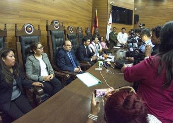 Magistrados del Tribunal Constitucional Plurinacional (TCP). | APG