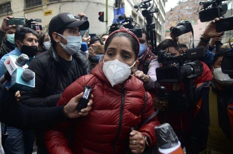 Carolina Ribera, hija de la ex presidenta Jeanine Añez