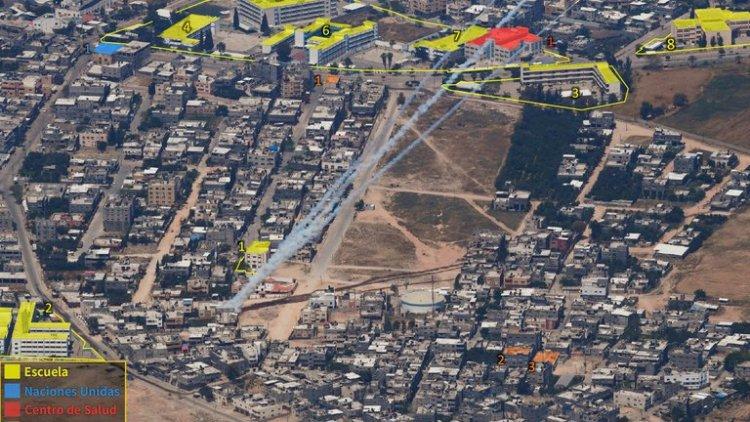 La imagen que prueba que Hamas bombardea Israel desde áreas residenciales de Gaza