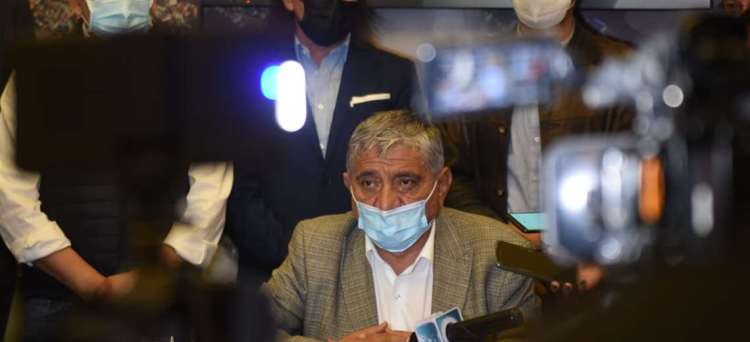 Iván Arias, Alcalde de La Paz. Foto archivo