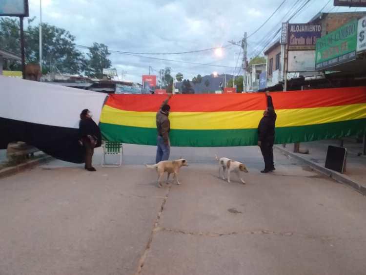 El bloqueo hoy lunes 31 de mayo en Yacuiba