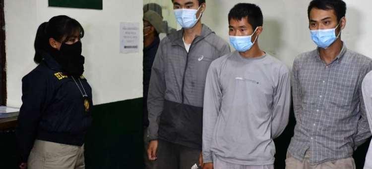 Ciudadanos extranjeros detenidos