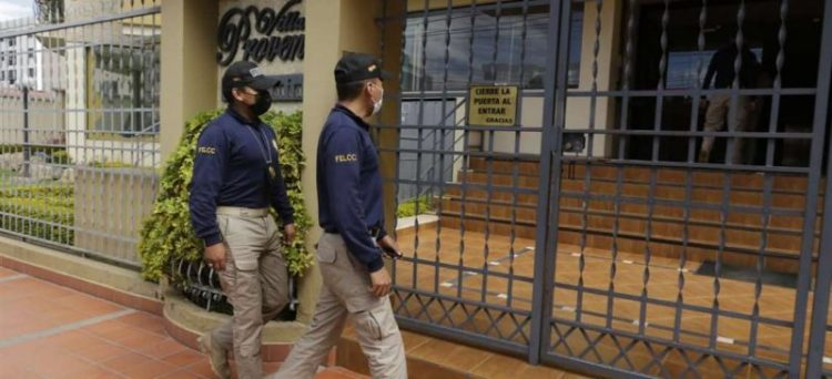 Edificios allanados en Cochabamba. Foto: APG Noticias