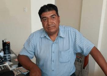Ejecutivo de la Central Obrera Departamental (COD) de Tarija, Eduardo Moreno