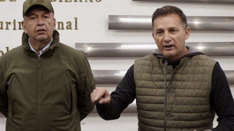 Arturo Murillo y Luis Fernando López, exministros de Gobierno
