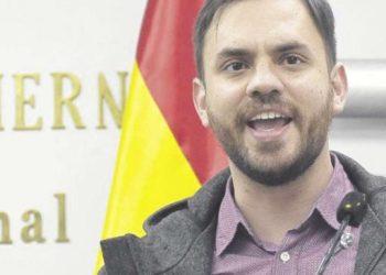 Ministro de Gobierno, Eduardo del Castillo
