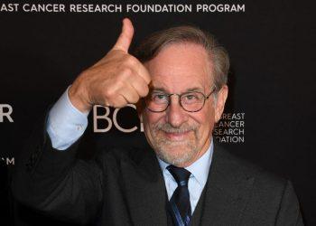 El director Steven Spielberg, durante un evento en 2019. Foto: AFP.