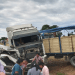 El accidente más grave fue protagonizado por una camioneta y un camión.