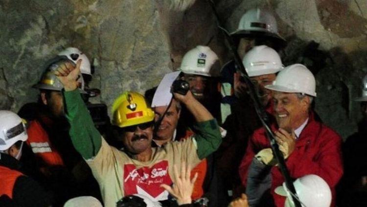 Justicia chilena aprueba indemnización de 55.000 dólares a 31 de los 33 mineros de Atacama Foto: AFP.