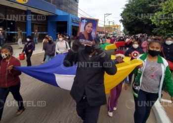 Familiares de Mary Yenny protestan por el feminicidio