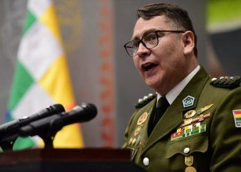 El coronel Jhonny Aguilera