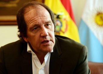 El embajador de Argentina en Bolivia, Ariel Basteiro.