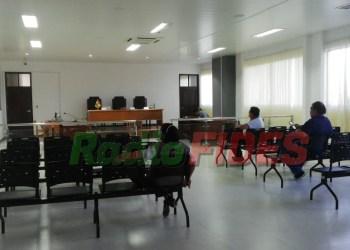 Sala judicial en Bermejo