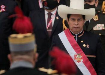 El presidente del Perú, Pedro Castillo.
