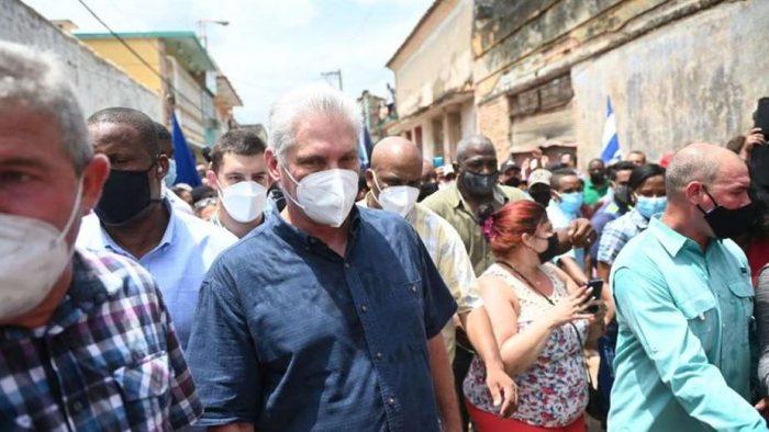 Presidente de Cuba Miguel Díaz-Canel