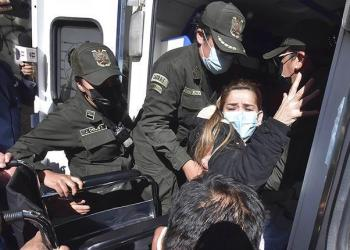 La expresidenta Jeanine Áñez es trasladada a un hospital (archivo). | APG