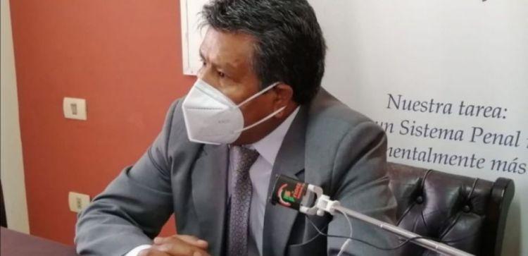 EL fiscal departamental de Tarija, Wilson Tito.