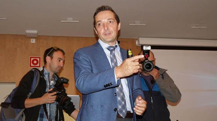 El docente español Manuel Corchado, que elaboró el informe para la Fiscalía de Bolivia.   dicyt,com