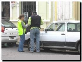 Problemas en la implementación del estacionamiento medido