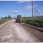 NECOCHEA: Trabajos en barrios de la ciudad