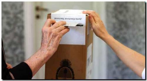 Las personas con coronavirus o en aislamiento están eximidas de la obligación de votar