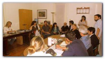 NECOCHEA: Comisión de Seguridad del HCD