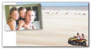 PINAMAR: Polémica tras la muerte de un chico aplastado por un cuatriciclo