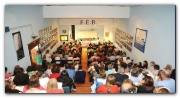 PARO DOCENTE: La FEB convoca a sus secretarios generales
