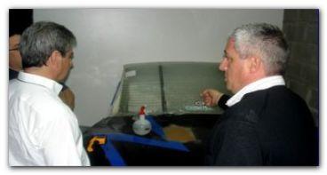 TC: Ensayo de Condensación para los parabrisas de los autos