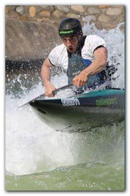 NECOCHEA: Canotaje slalom de aguas rápidas