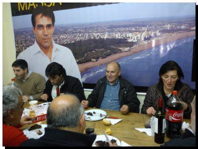 "ELECCIONES 2015: Reunión de Facundo López con el ""Vasco"" Goicochea en Necochea"